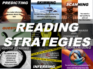 Updated reading strategies posters